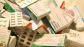 Pills: Patients are warned not to take more than advised.