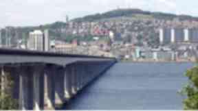 Tay Road Bridge.