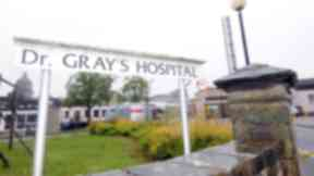 General view of Dr Gray's hospital in Elgin Moray. Quality image