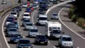Motorway: The work begins in August (file pic).