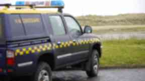 Jeep: Vehicle targetted in incident was a HM Coastguard 4x4.