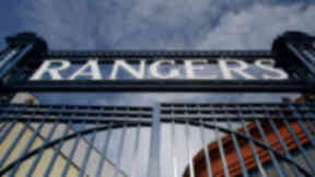 Rangers Ibrox Park gate quality image June 25 2012