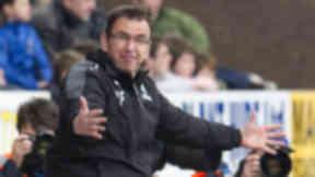 Hibernian manager Pat Fenlon, hibs