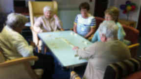 Pensioners at Cumbernauld Action Care for the Elderly