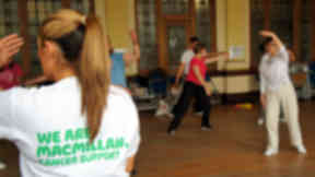 Macmillan cancer exercise classes CANmove