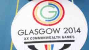 Generic image of the Commonwealth Games Glasgow 2014 flag and logo