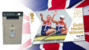 Heather Stanning Royal Mail Stamp