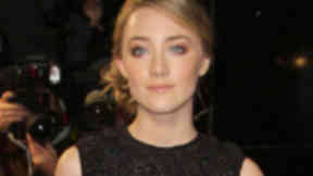 Premiere:  Saoirse Ronan will attend the Edinburgh Castle event.