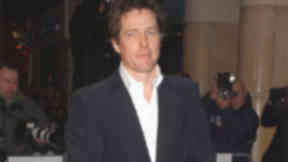 Hugh Grant taken to hospital