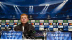 Neil Lennon prior to Helsingborg v Celtic, August 2012.