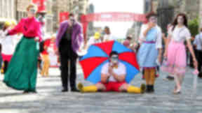 Edinburgh festivals: Run over three-and-a-half weeks in August.
