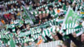 Celtic fans GV.