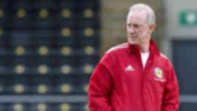 Scotland Under-21 manager Billy Stark in September 2012.