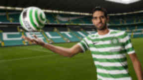 Lassad Nouioui: Tunisian international was signed by Celtic in 2012.