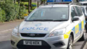 Strathclyde Police car quality image