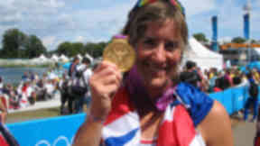 Katherine Grainger: Rowing hero with gold medal at London Olympics.