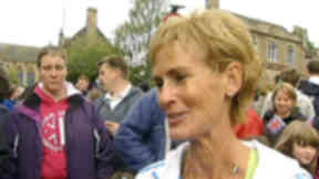 Judy Murray in dunblane for Andy Murray homecoming