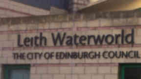 Leith Waterworld sign