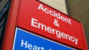 Generic Accident and Emergency sign