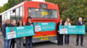 SAM H Mental Health bus campaign