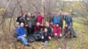 North Kelvin Meadow Campaign comes together to spruce up the meadow.