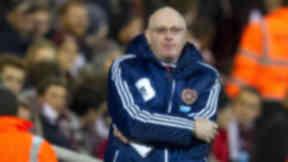 John McGlynn, Hearts, October 2012.