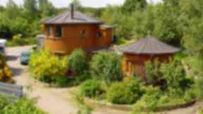 Barrel Houses Findhorn Foundation
