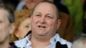 Mike Ashley, owner of Sports Direct and Newcastle football club
