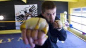 Ricky Burns, boxer, December 2012.