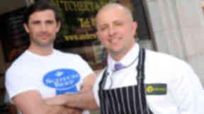 Aberdeen butcher Andrew Gordon