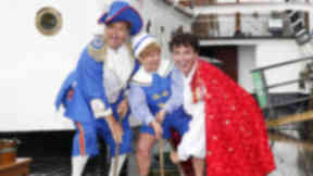 John Barrowman: The actor was injured in a fall at the SECC during panto performance with the Krankies.