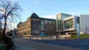 Allegations: The scheme centred on the former Adam Smith College in Kirkcaldy.