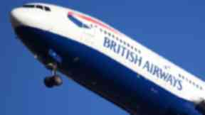 Diverted: British Airways landed in Boston to remove a 'unruly' Glaswegian. (file pic)