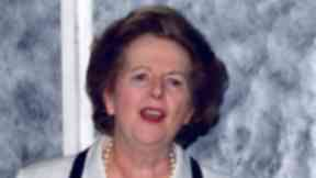 File picture of Margaret Thatcher