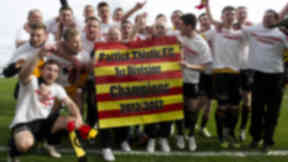 Partick Thistle secure promotion to the SPL.