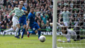 Gary Hooper netted a brace in the 4-1 win over Inverness.