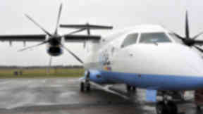 FlyBe: The contract with Loganair will end in September 2017 (file pic).