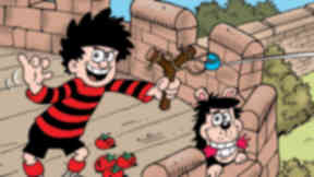 Generic image of Dennis the Menace and Gnasher from DC Thomson comic strip The Beano.