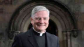 Quality image of Monsignor Leo Cushley, the new Archbishop of St Andrew and Edinburgh.