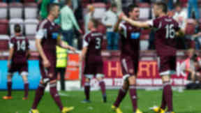 Hearts came out on top in Sunday's Edinburgh derby, piling more pressure on Hibernian boss Pat Fenlon.