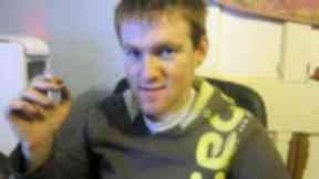 Douglas Adamson, 22, went missing from Bainsford, Falkirk on September 9 2013. Police collect
