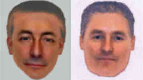 E-fits of 'suspect' in Madeleine McCann's disappearance released by Met Police.