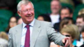 Sir Alex Ferguson, former Manchester United manager, quality image