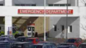 Victim 'serious': Edinburgh Royal Infirmary.