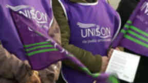 Strike: CCTV workers are to take industrial action every weekend.