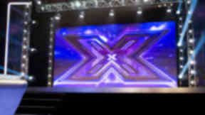 X Factor stage