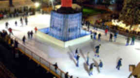Ice rink: The feature was a regular in Glasgow Loves Christmas.