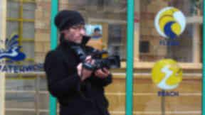 Jon Pullman films at Leith Waterworld