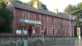 Pollokshaws West station