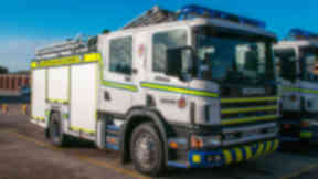 Incident: Five crews were called to the scene (file pic).